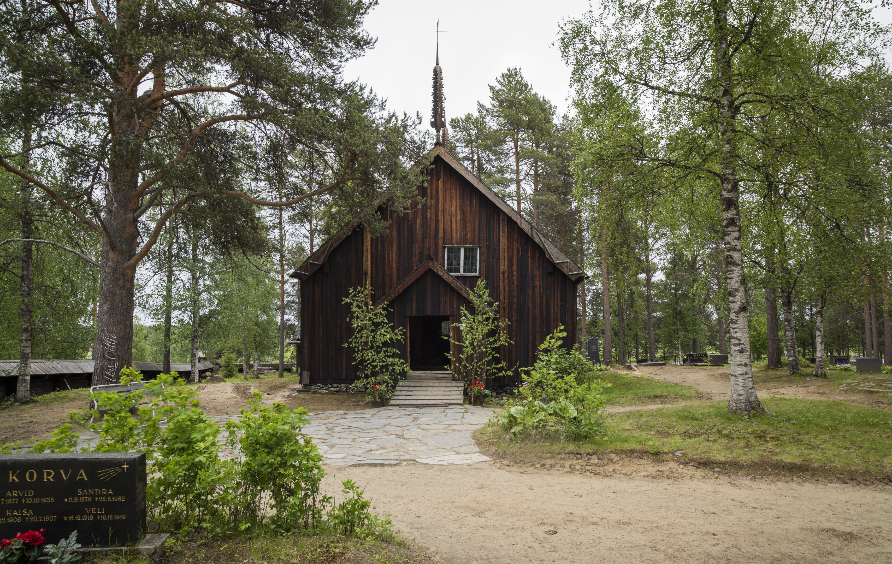 Alte Kirche von Sodankylä