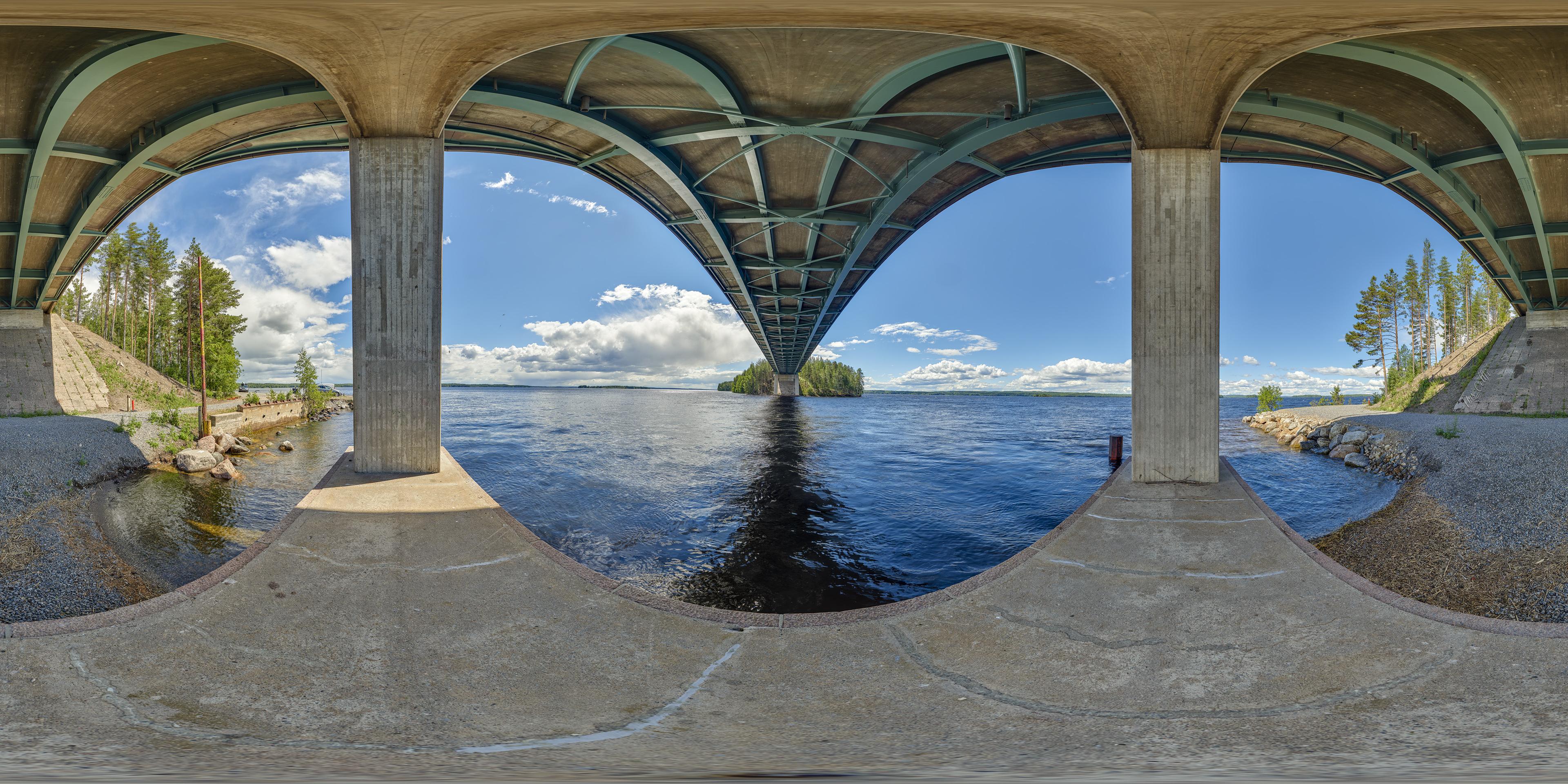 Karisalmi-Brücke